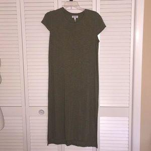 NWOT Jessica Simpson midi t-shirt dress size L